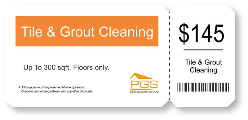 tile & grout cleaning coupon PGS